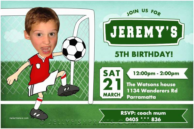 Soccer Party Invitations 8 Best Of Soccer Birthday
