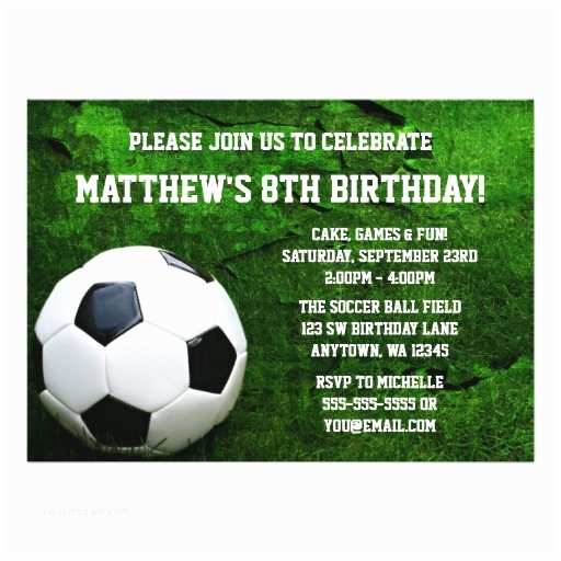 Soccer Party Invitations Printable Birthday Invitations for Free Template