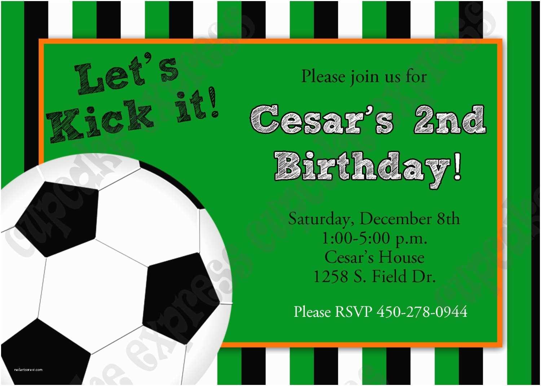 Soccer Party Invitations soccer Invitation Template