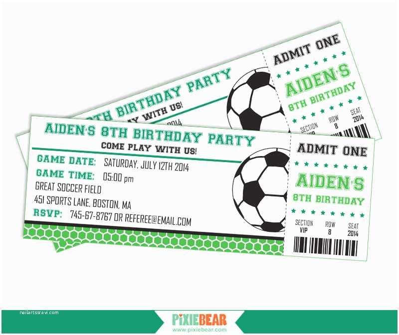Soccer Party Invitations soccer Party Invitation soccer Birthday Invitation soccer