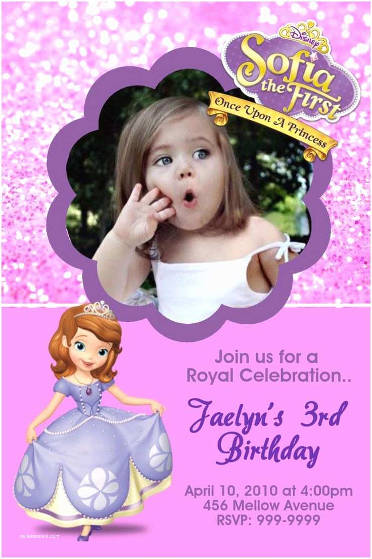 Sofia the First Birthday Invitations 482 Best sofia the First Images On Pinterest