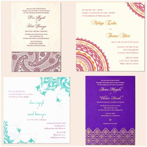 South asian Wedding Invitations Contest for south asian Brides