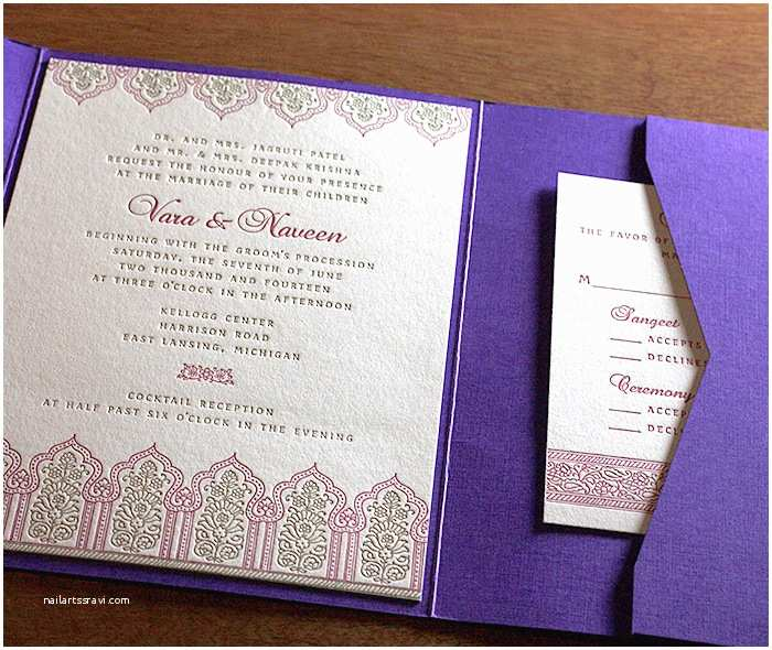 south asianstyle wedding invitations spring