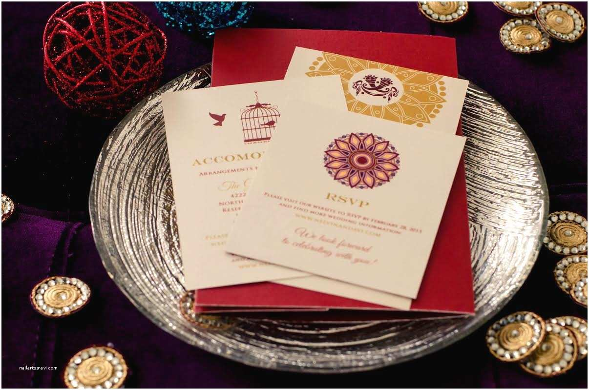 South asian Wedding Invitations Ultimate south asian Weddings Picking the Perfect