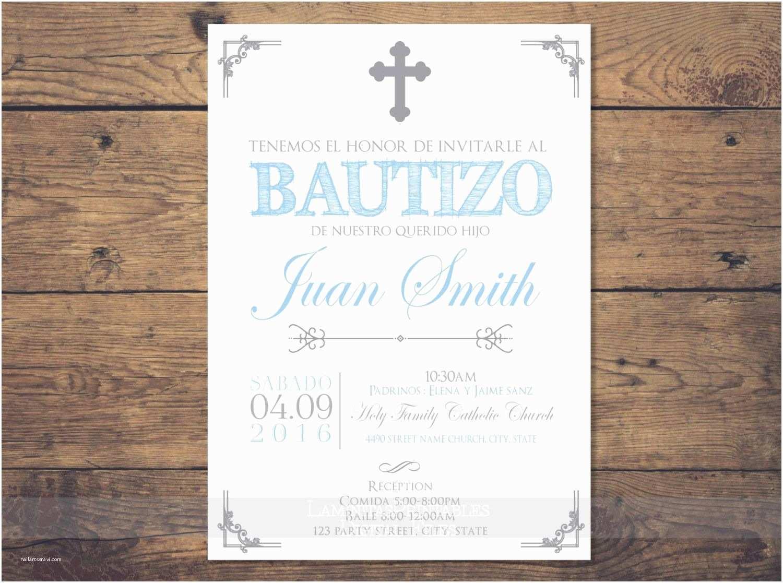 Spanish Baptism Invitations Baptism Invitations In Spanish Baptism Invitations In