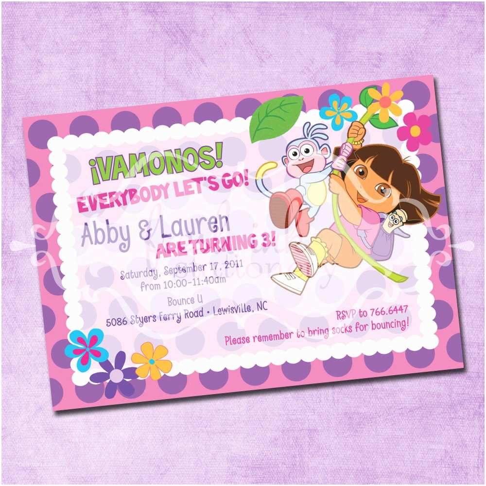 Spanish Party Invitations Birthday Template