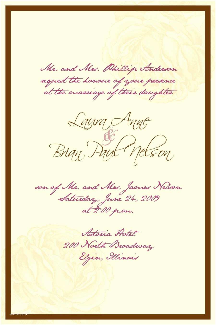 Spanish Wedding Invitations Spanish Wedding Invitation Wording Samples 28 Wedding