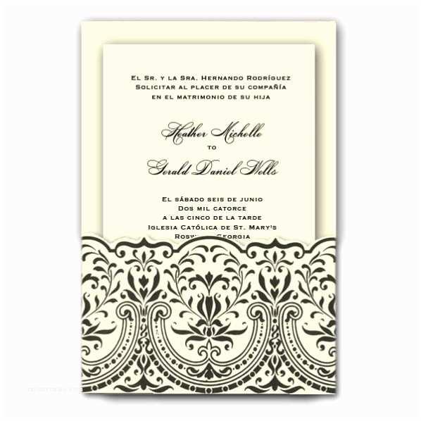 Spanish Wedding Invitations Spanish Wedding Invitations