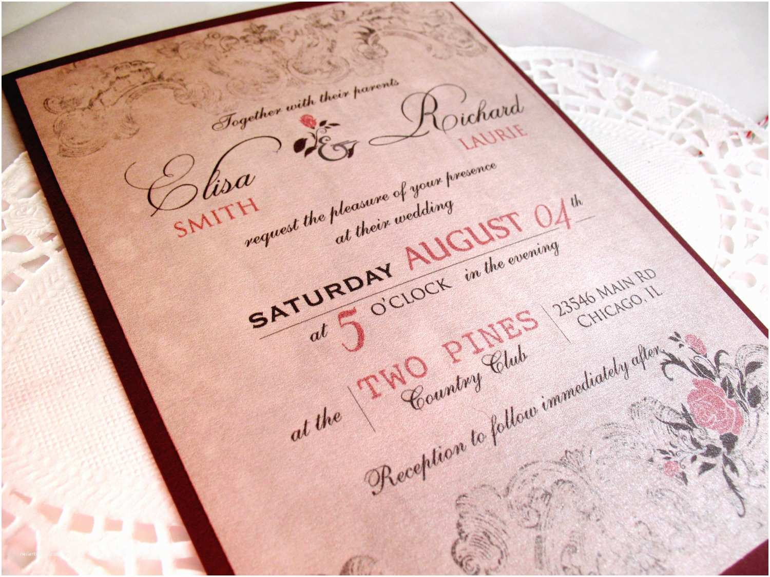 Spanish Wedding Invitations Wedding Anniversary Invitation Wording In Spanish Yaseen