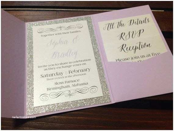 Sparkly Wedding Invitations Sparkly Wedding Invitations