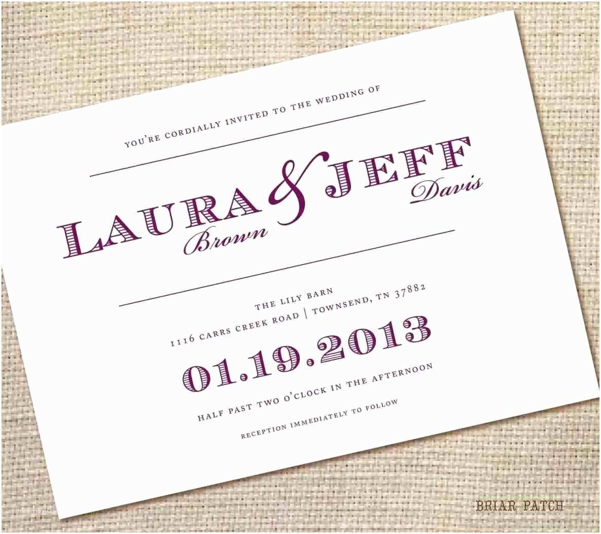 Special Wedding Invitation Wording Unique Wedding Invitations Samples