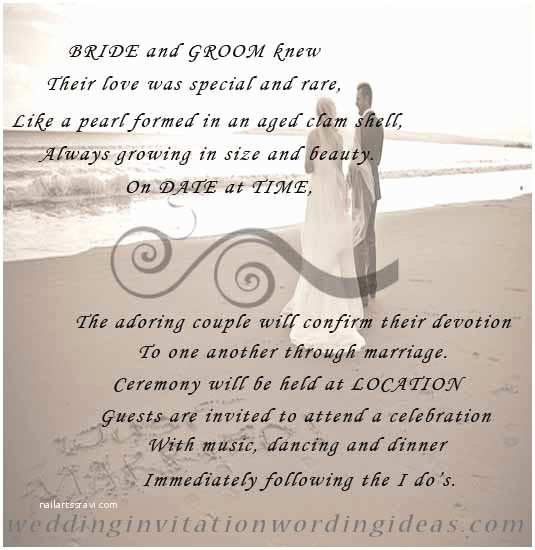 Special Wedding Invitation Wording Wedding Invitation Wording – How to Write Perfect Wedding