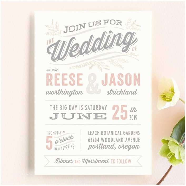 Special Wedding Invitation Wording Wedding Invitation Wording that Won T Make You Barf