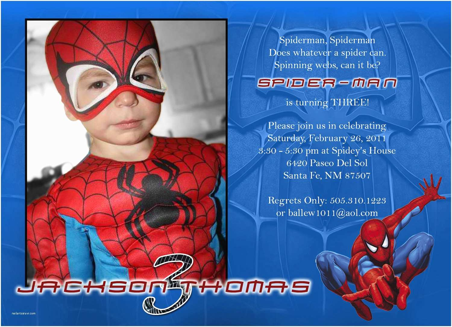 image about Printable Spiderman Invitations called Spiderman Get together Invites No cost Printable - Letter