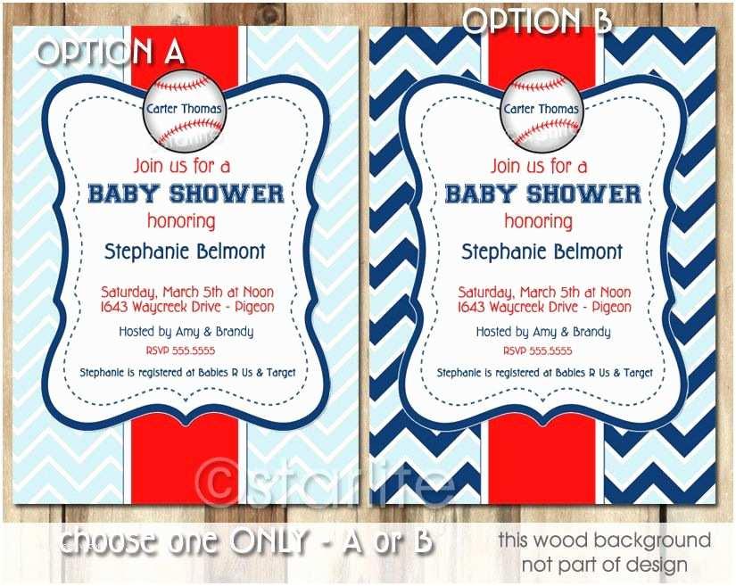 Sports Baby Shower Invitations Baseball Baby Shower Invitation Boy Little Slugger