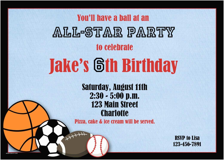 Sports Birthday Invitations Sports Birthday Invitation Sports Party by thebutterflypress