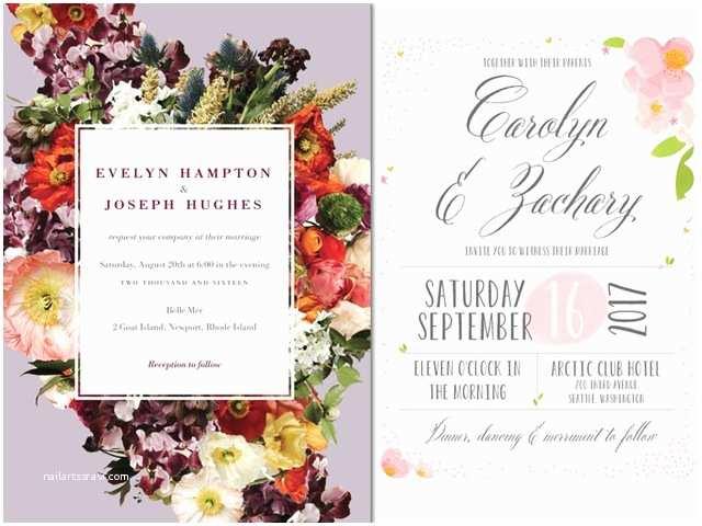 Spring Wedding Invitations Spring 2015 Wedding Invite Ideas