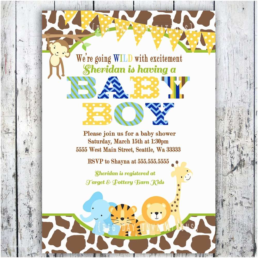Sprinkle Baby Shower Invitations Baby Shower Invitations Ideas for Boys