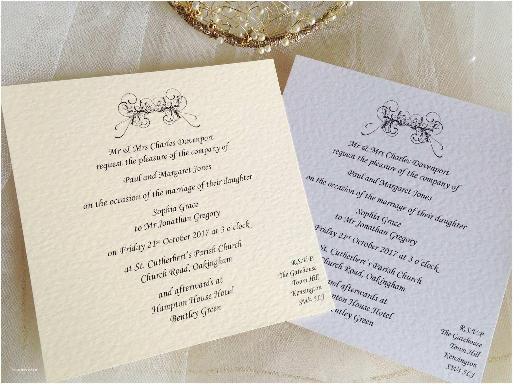 Square Wedding Invitations Art Deco Flat Square Wedding Invitations