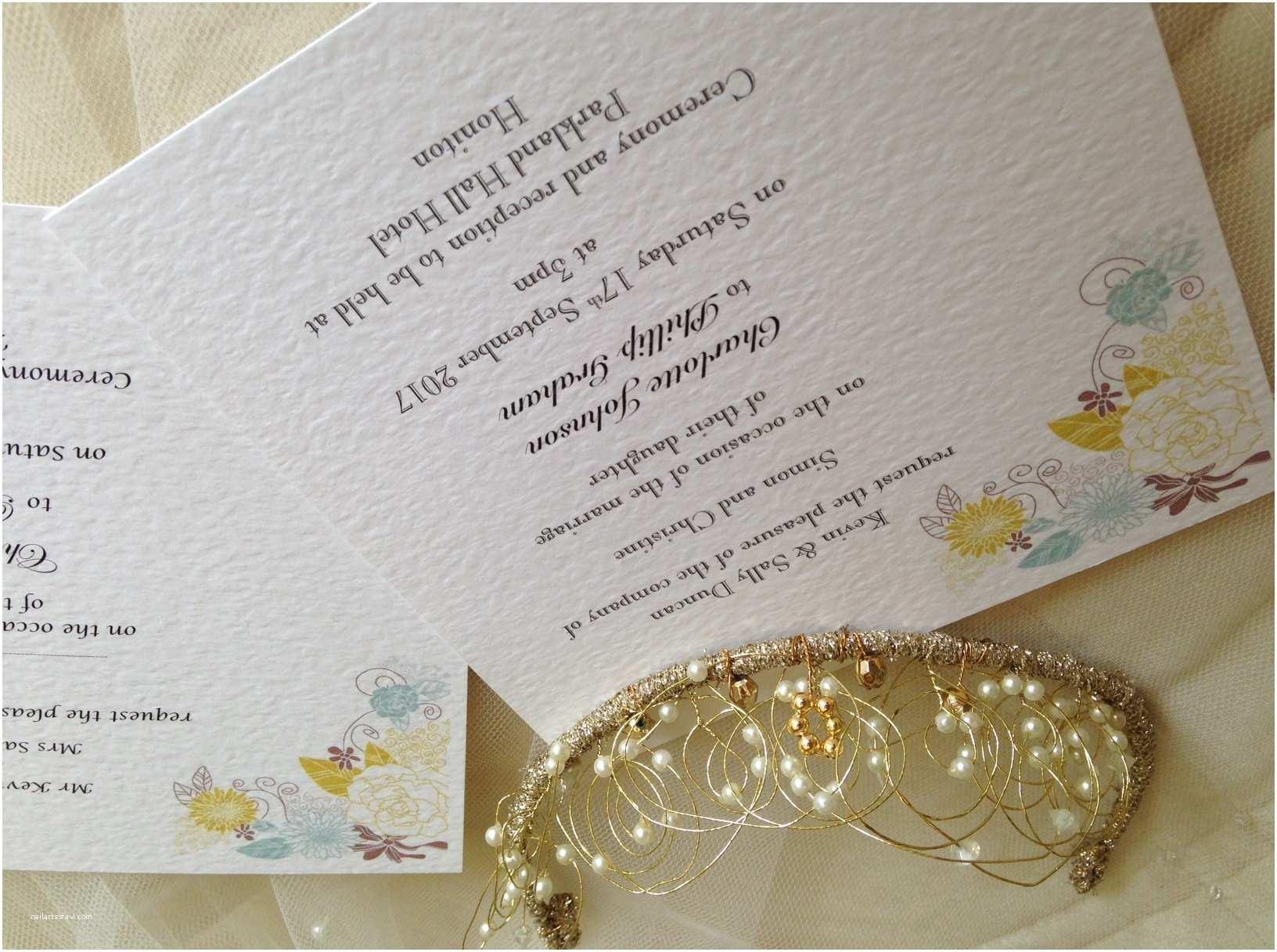 Square Wedding Invitations Blooms Flat Square Wedding Invitations