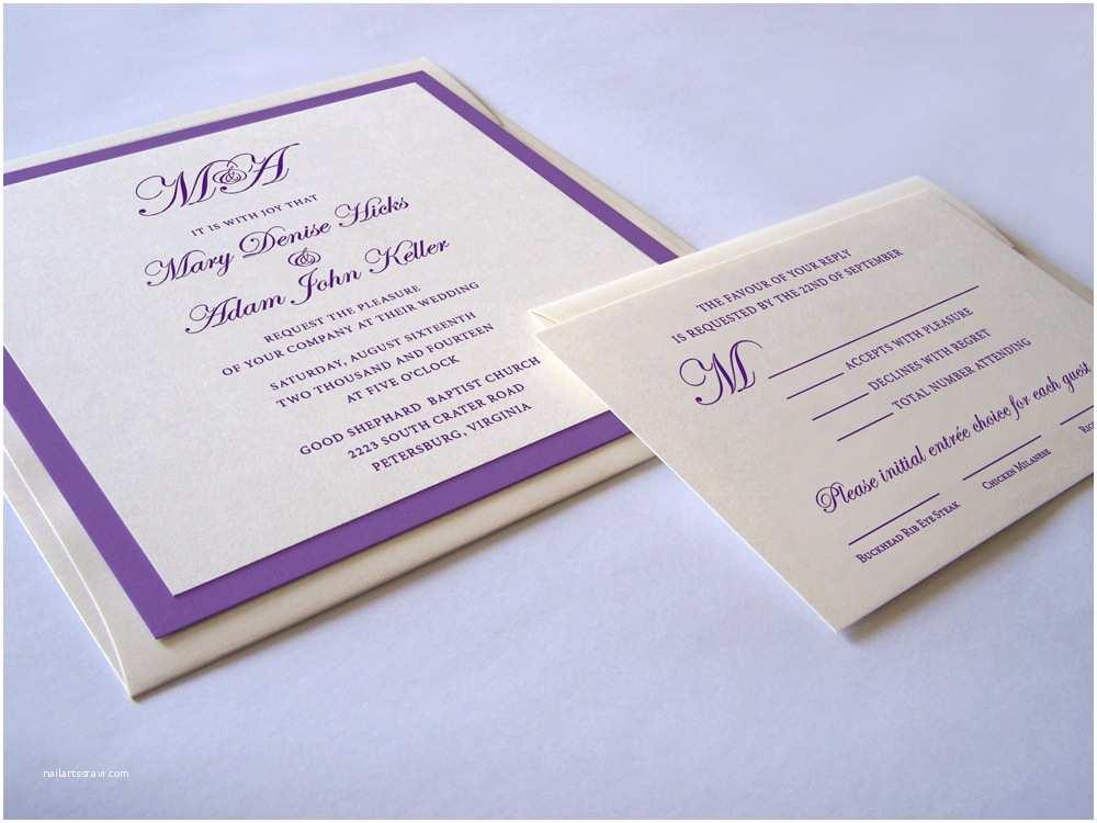 Square Wedding Invitations Lavish Square Wedding Invitation