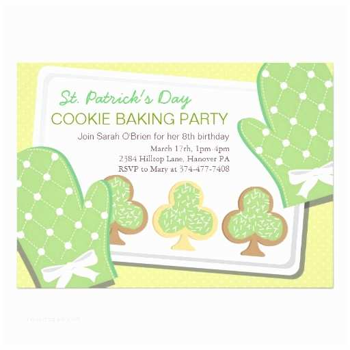 St Patricks Day Party Invitations Children St Patrick S Day Party Invitation
