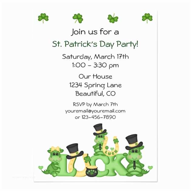 St Patricks Day Invitations pageNum rs=4