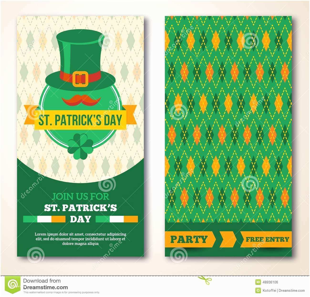 St Patricks Day Party Invitations St Patrick's Day Party Invitations Free Templates