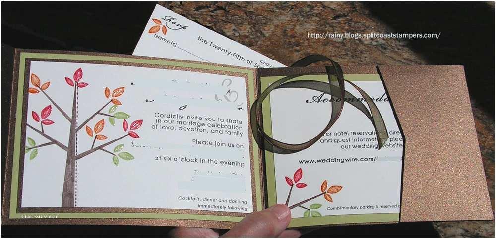 Stampin Up Wedding Invitations Stampin Up Wedding Invitations