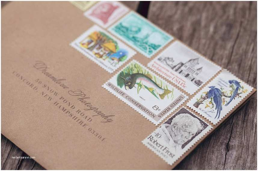Stamps for Wedding Invitations Anthologie Press