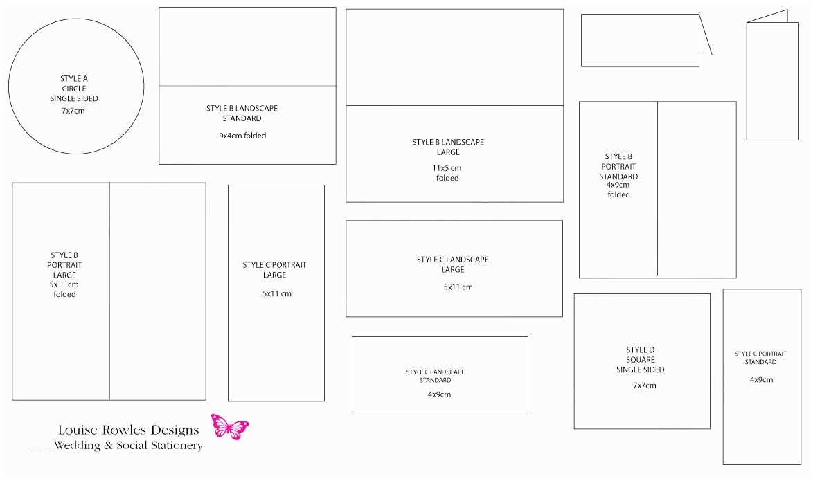 Standard Wedding Invitation Dimensions Create Easy Standard Wedding Invitation Size Designs