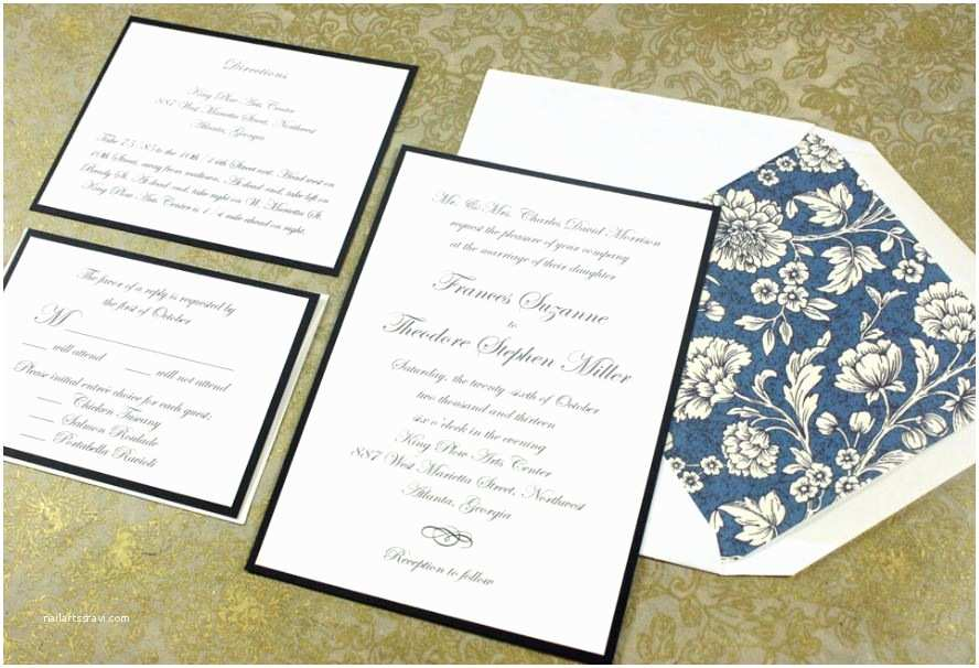 Standard Wedding Invitation What is the Standard Wedding Invitation Size Everafterguide