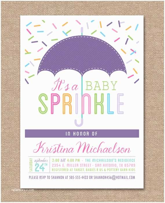 Staples Baby Shower Invitations Printable Baby Shower Invitation Baby Sprinkle by