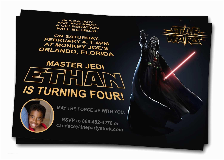 Star Wars Birthday Invitation Free Printable Star Wars Birthday Invitations