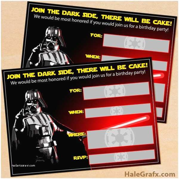 Star Wars Birthday Invitation the Best Star Wars Party Ideas Happiness is Homemade