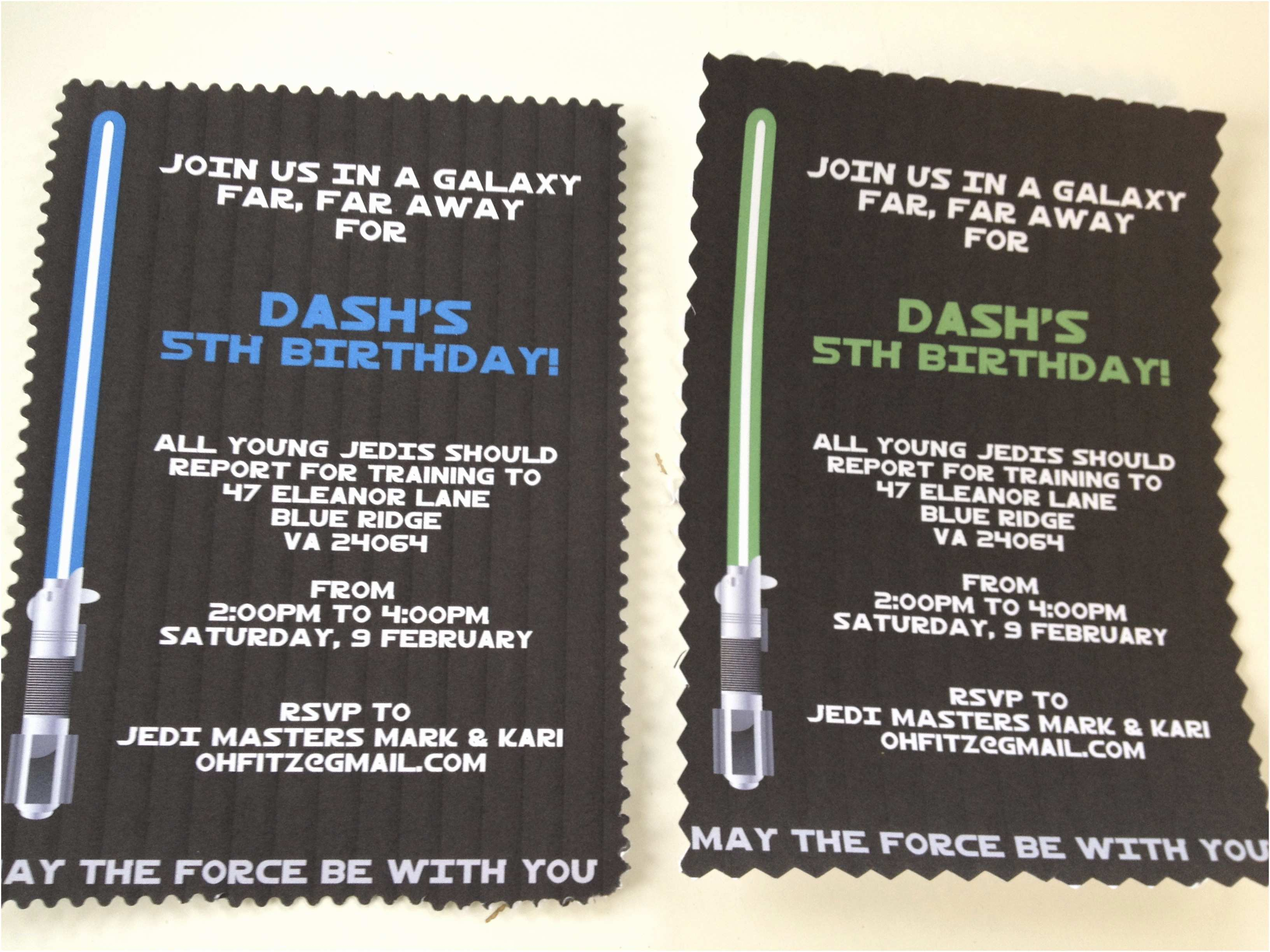 Star Wars Birthday Invitations Star Wars Birthday Party