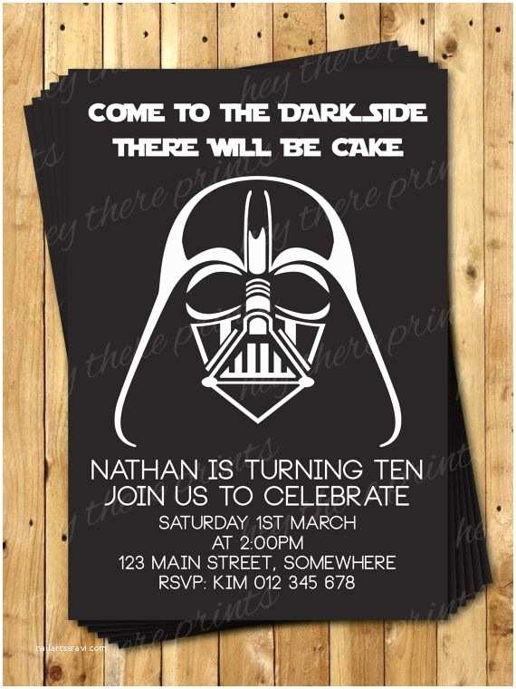 Star Wars Birthday Party Invitations 25 Best Ideas About Darth Vader toys On Pinterest