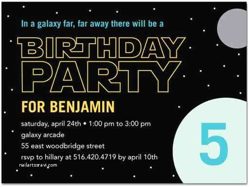 Star Wars Birthday Party Invitations Star Wars Birthday Invitations – Gangcraft