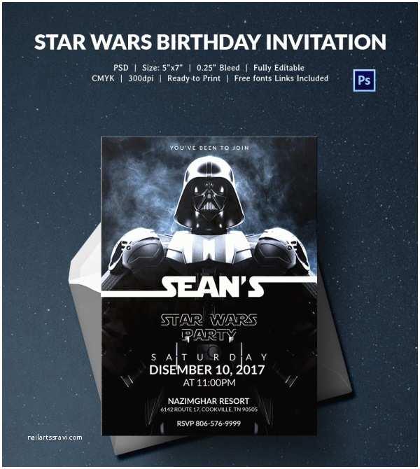 Star Wars Birthday Party Invitations Star Wars Birthday Party Invitations – Gangcraft