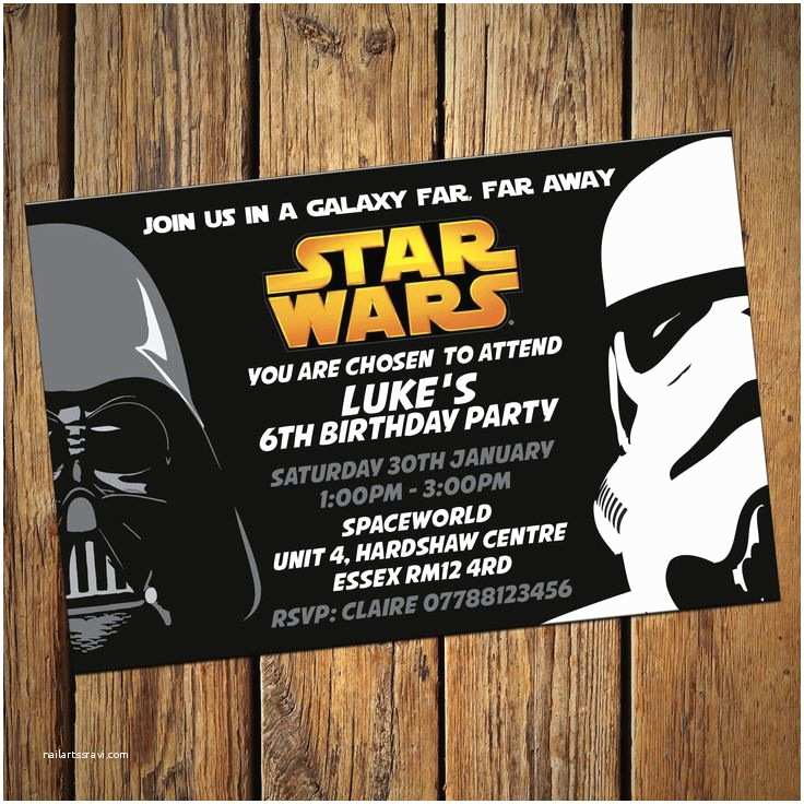 Star Wars Party Invitations Best 25 Star Wars Invitations Ideas On Pinterest