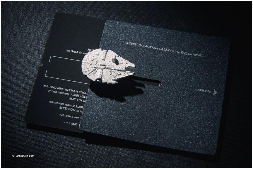 Star Wars themed Wedding Invitations Star Wars Wedding Invitation Trumps All Other Invitations