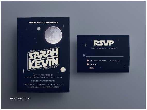 Star Wars Wedding Invitations 10 Galaxy Inspired Star Wars Wedding Invitations