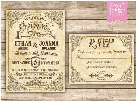 Steampunk Wedding Invitations Steampunk Wedding Invitations Sansalvaje