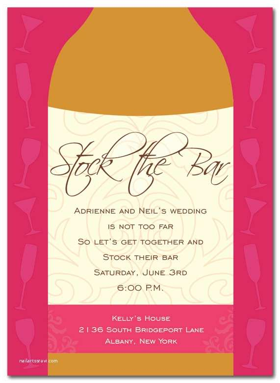Stock the Bar Party Invitations Stock the Bar Party Invitations by Invitation