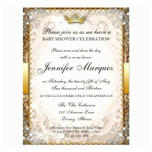 "Storybook Baby Shower Invitations ornate Fairytale Storybook Baby Shower Invitation 4 25"" X"