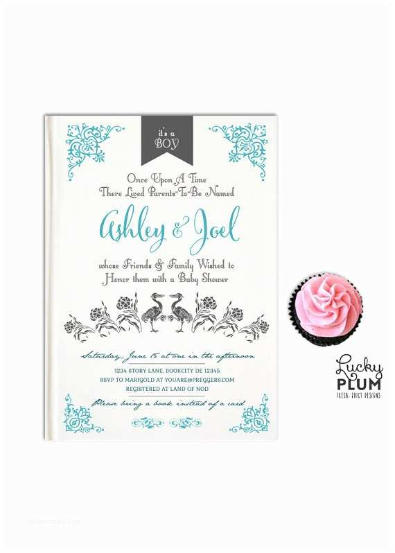 Storybook Baby Shower Invitations Storybook Baby Shower Invitation Book Baby Invitation Ce