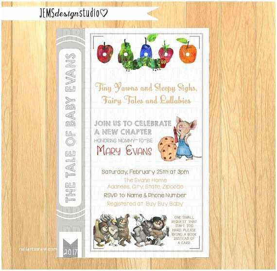 Storybook themed Baby Shower Invitations Best 25 Storybook Baby Shower Ideas On Pinterest