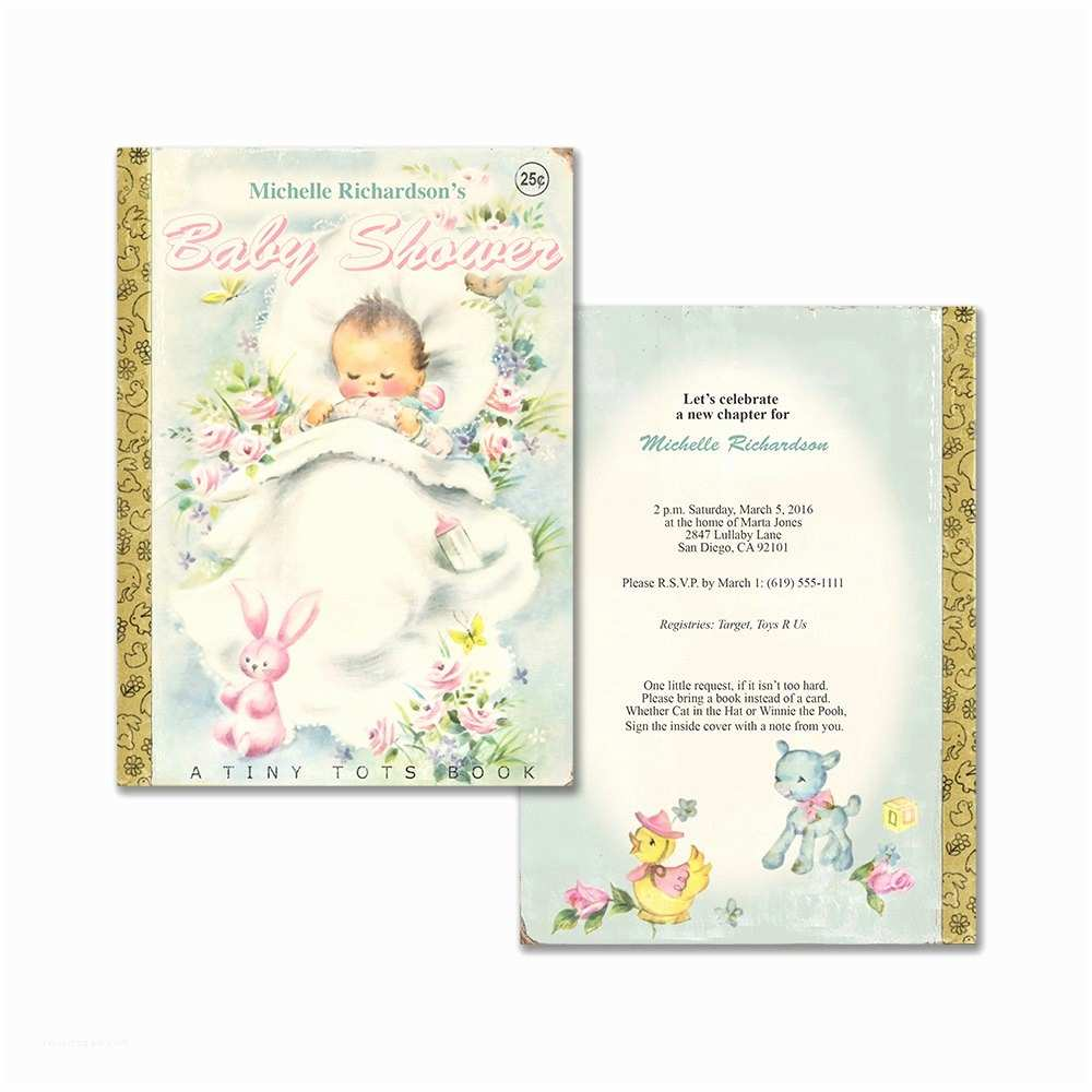 Storybook themed Baby Shower Invitations Invitation for Baby Shower astonishing Storybook themed