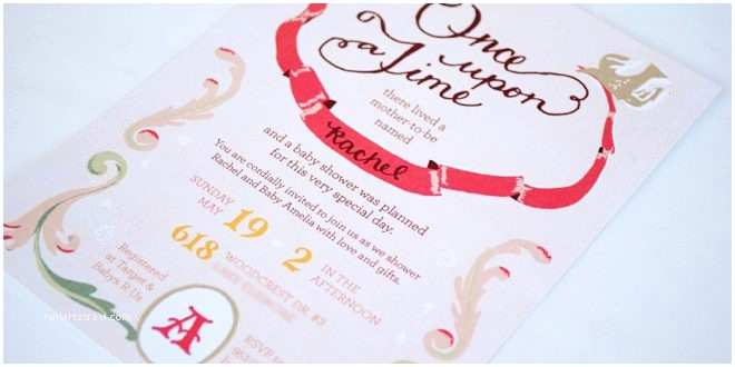 Storybook Themed Baby Shower Invitations Storybook Baby Shower Invitations Party