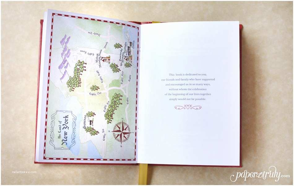 Storybook Wedding Invitations Fable Storybook Wedding Invitation Paper Truly